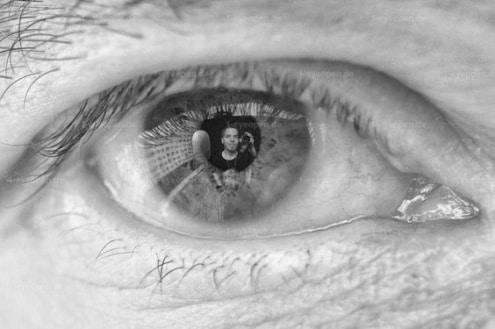 In Matthias sein Auge