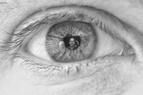 In Sascha sein Auge
